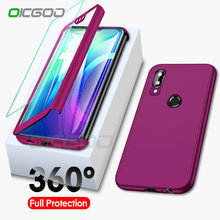 360 Full Body Cover For Huawei Honor 7A 7C 8 8A 8X 9 10 Lite Protective Cases for Huawei P Samrt 2019 Y6 Y7 Y9 2018 Case Coque(China)