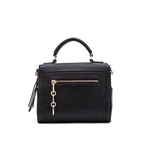 Image 5 - MIYACO sac à main en cuir pour femmes, sac noir, sacs à bandoulière, sacoche pour dames, collection décontracté