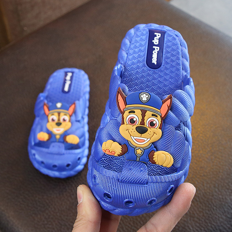 Baby Boys Girls Slippers Closed-toe Thick Bottom Indoor Slippers Children Summer Shoes Non-skid Pool Bathroom Slippers  Baby Boy