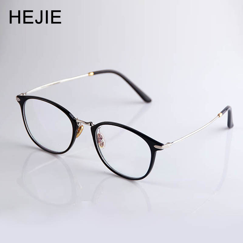 Image HEJIE Reading Glasses Women Ultra Light ULTEM Frame Ultra thin Aspheric Coating Hyperopia Lens Anti Glare Diopter+0.5 +4.0 Y1121