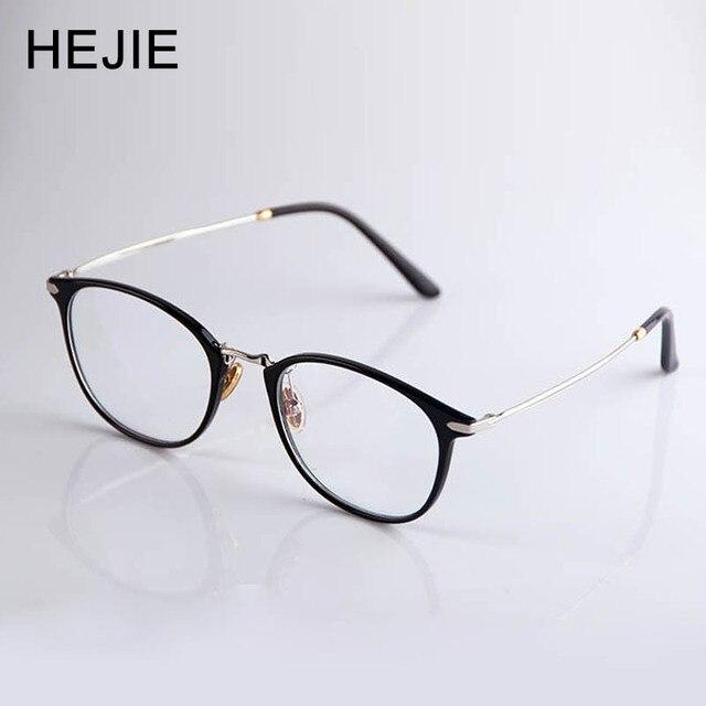 HEJIE Óculos De Leitura Mulheres Ultra Light ULTEM Quadro Asférica  Ultra-fina Lente Revestimento Anti bf6a8818a6
