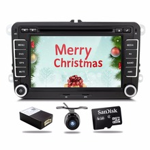 2din for VW Car DVD GPS PC Navigation for VW PASSAT B6 GPS Map radio stereo,bluetooth, FM/AM