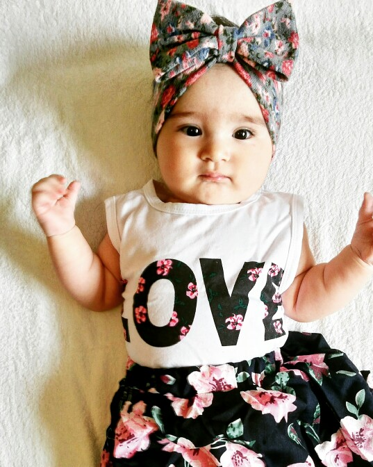 2017-Children-girls-casual-shirt-Love-Tank-top-flower-skirt-clothes-set-summer-fashion-clothing-set-printed-Baby-clothes-suit-1
