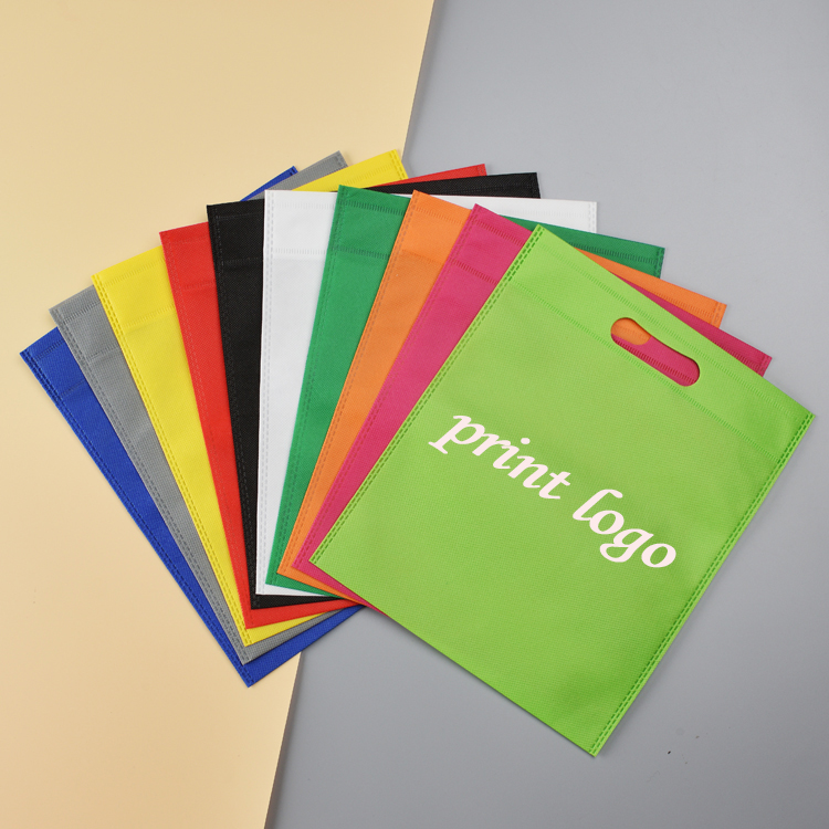 New 20 pieces 30x40cm Reusable Bags Non Woven Shopping Bags Promotional Bags For Gift Packing Accept Custom LOGO