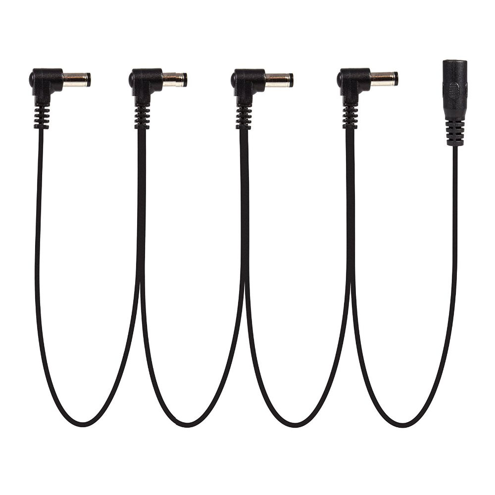 Daisy Chain 1 To 3 4 5 6 Ways Guitar Effects Pedal Power Supply Cable For 9V DC Adapter Plug
