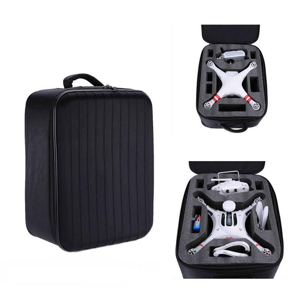 2X Luxury Nylon Shoulder Backpack Bag Carry Case for DJI Phantom 3 Quadcopter CX-20 Quadcopter Black shoulder bag backpack carrying case for dji phantom 4 3 quadcopter black