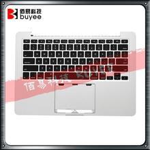 Oryginalna klawiatura amerykańska A1502 dla Macbook Pro Retina Topcase pod koniec 2013 r. Połowa 2014 r. 13 A1502 klawiatura podświetlana podpórką pod nadgarstki