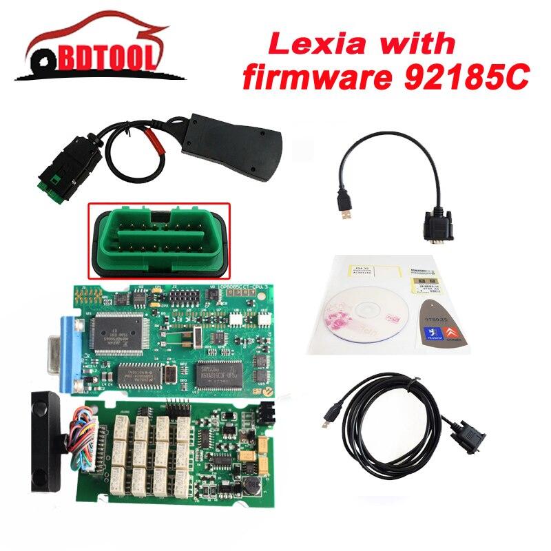 Цена за Lexia 3 с прошивкой 921815C 2017 Лучшие продажи lexia3 Диагностический Инструмент pp2000 lexia 3, лексия-3 diagbox 7.83 7.76 программного обеспечения бесплатно