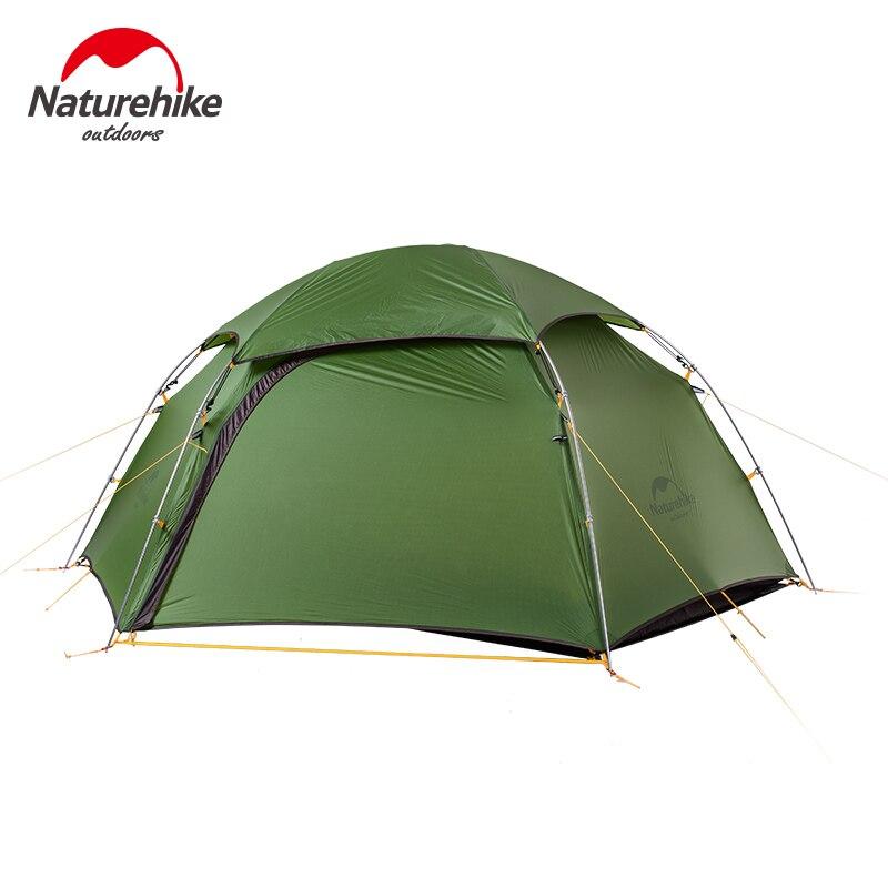 Naturehike Nuage Pic Série de Voyage En Plein Air Tente Ultra-Léger 2 Personnes Quatre Saisons Double Couches Tentes Pour la Randonnée Camping