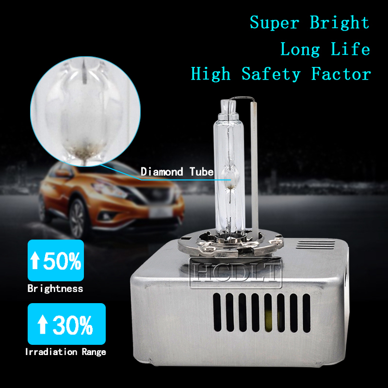 HCDLT véritable 35 W D5S OEM HID ampoule de phare au xénon 5500 K blanc tout en un D5S Kit de Ballast au xénon 9285 410 171 mise à niveau originale 25 W - 3