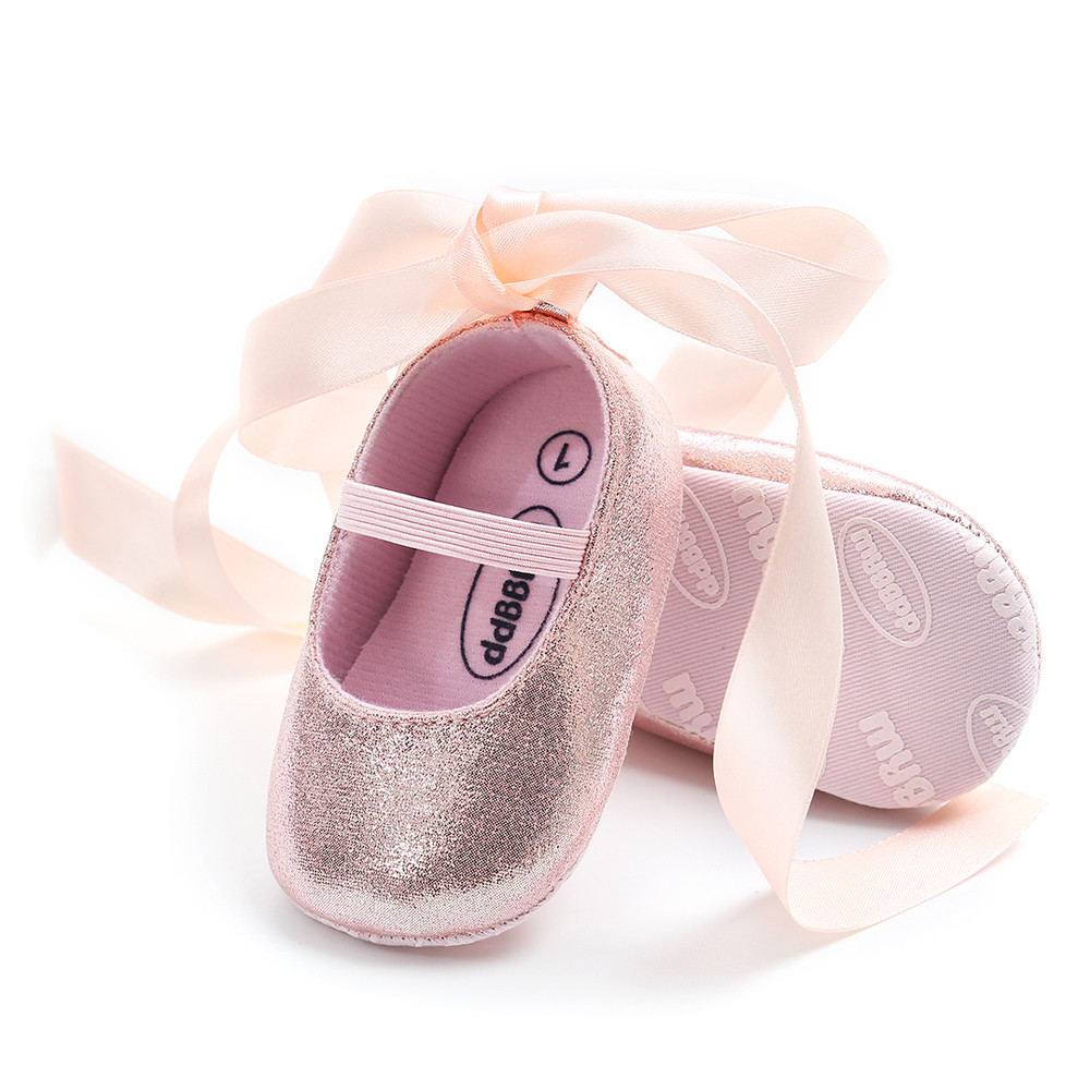 First Walkers Shoes Moccasin Toddler Baby-Girl Fashion Bandage Soft-Sole Princess Kid