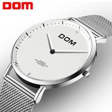 DOM Fashion Watch Women Brand Luxury Women Watches Вольфрамовая сталь Водонепроницаемый кварц feminino Ladies бесплатная доставка W-327CK-5M