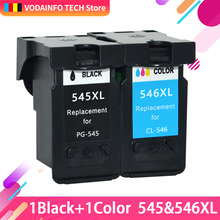 QSYRAINBOW  Refilled PG 545XL CL 546XL Replacement ink cartridge for canon 545 546 Pixma MG2550 MG2580 MG2950 MG2400 MG2450