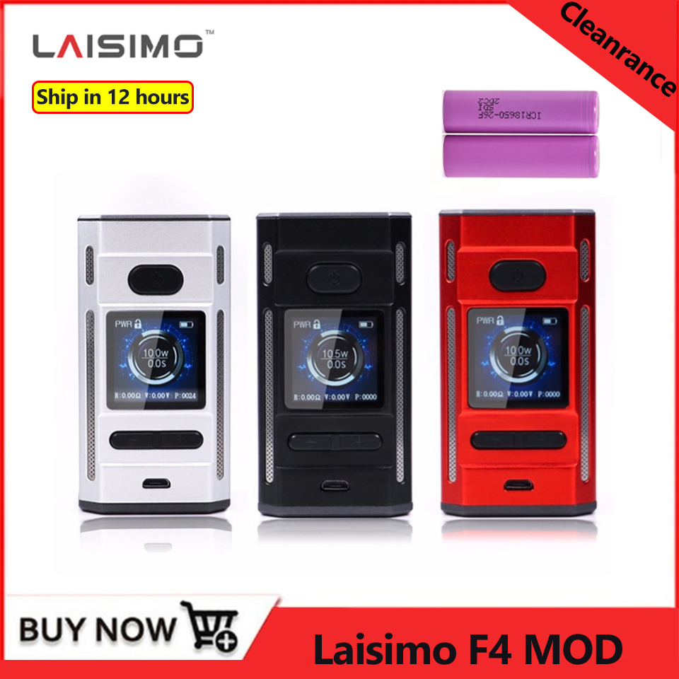 Clearance Laisimo F4 360W TC Box Mod Electronic Cigarette Vape Mod 360w powered by 2 OR