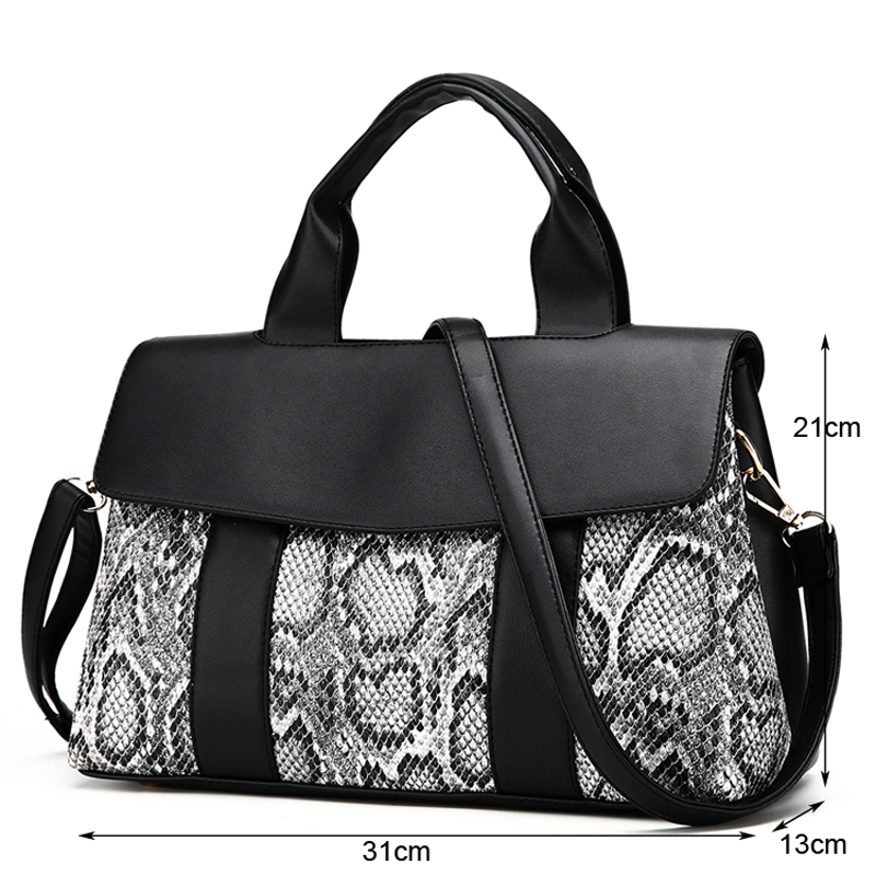 2Pc Set Handbags Designer Shoulder Bags Ladies Leather Tote Bags Women Clutch And Purses Sac