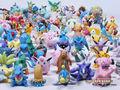 Moda 24 PCS Lotes Por Atacado Bonito Pokemon Mini Aleatório Pérola Figuras New Hot Crianças Toy Hot