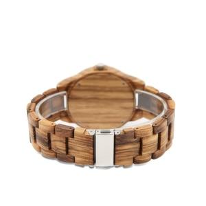 Image 5 - 나무 시계 남성 신사 시계 clok 남자 relogio masculino 럭셔리 남자 브랜드 남자 기념품 relogio 시계