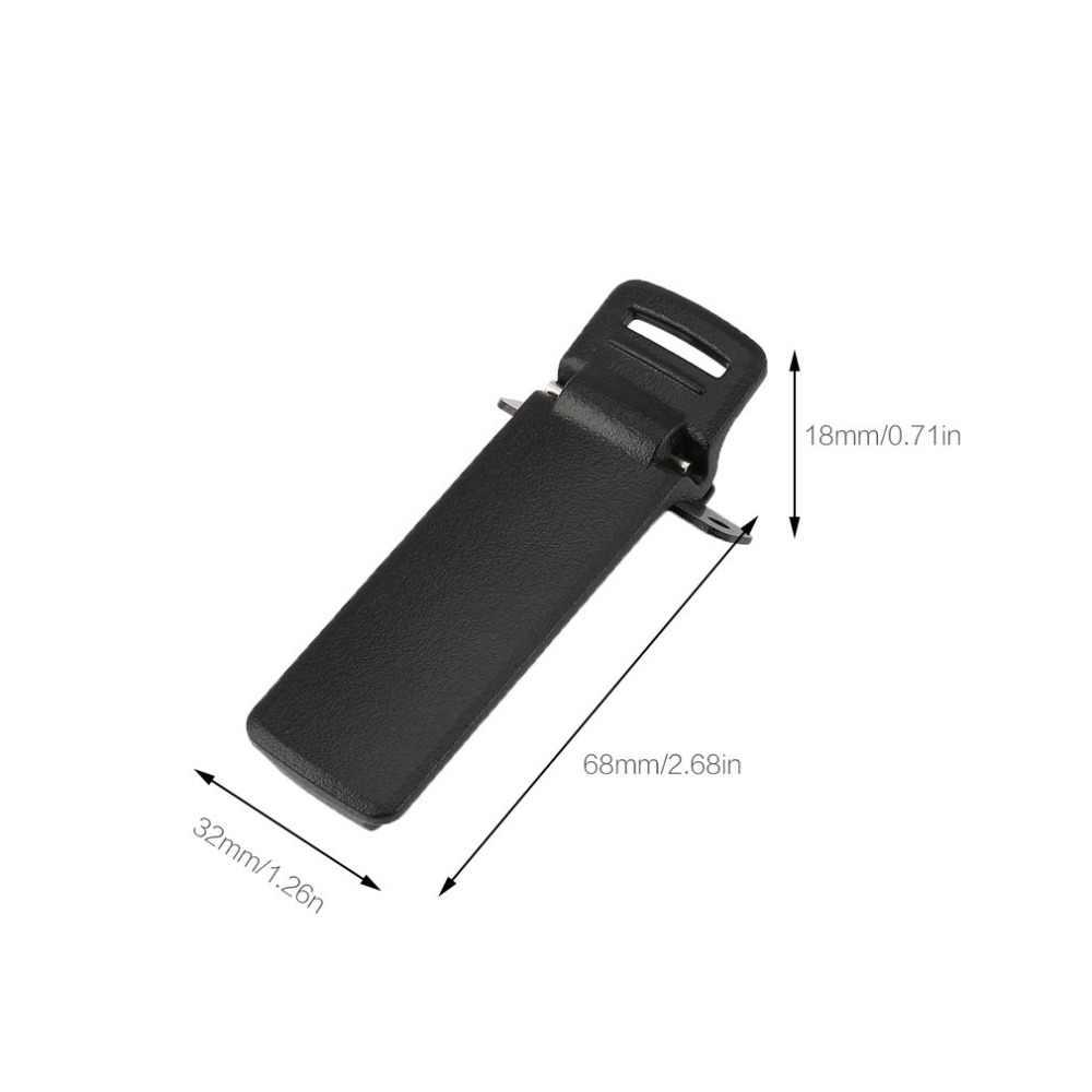 מקורי 1Pc חזרה קליפ עבור BaoFeng UV-5R חגורת קליפ עבור 5RE בתוספת 5RA מהדק מיני חלקי רדיו ווקי טוקי אבזרים