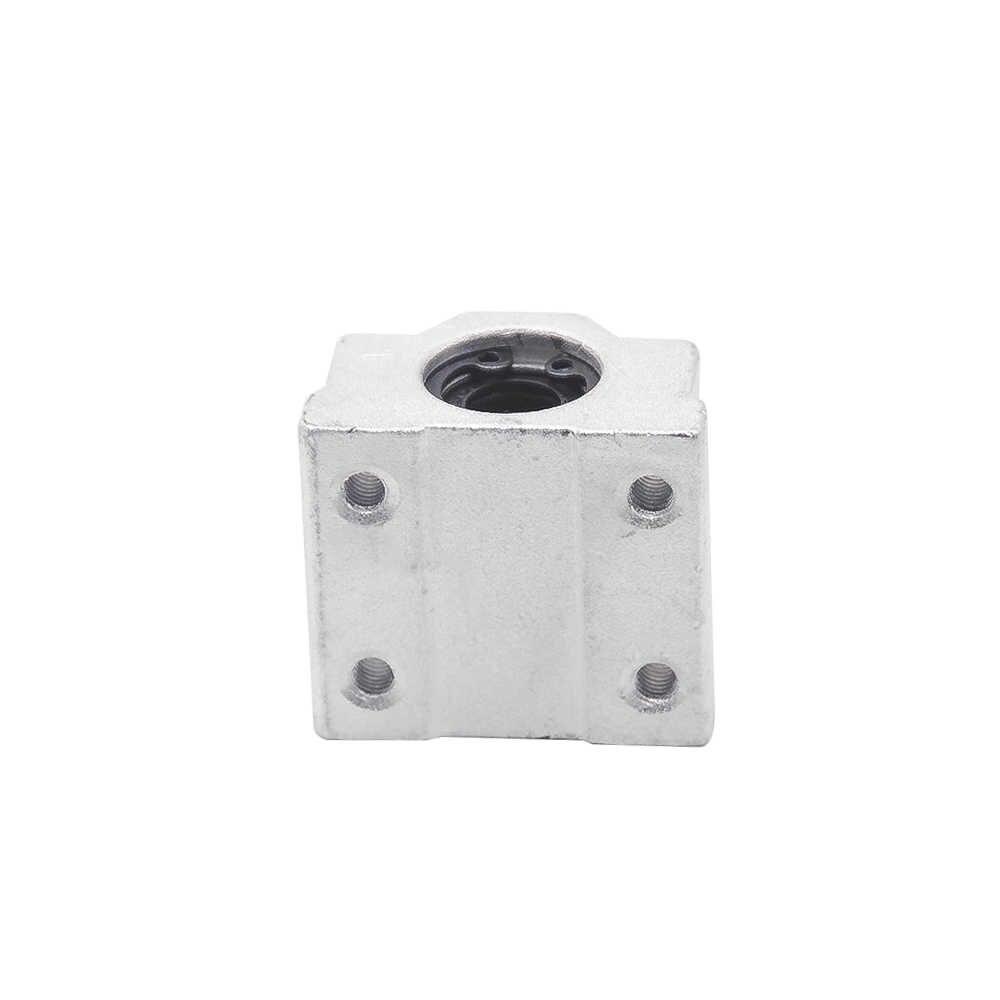 1pc SC8UU SCS8LUU 8mm Linear Ball Bearing Block CNC Router SCS6UU SCS10UU SCS12UU SCS13UU for CNC 3D printer shafts Rod parts