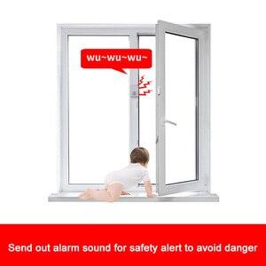 Image 5 - Capteur de porte magnétique pour téléchargement sonore, alarme dentrée, sonnette de bienvenue, sonnette douverture, alerte de sécurité, rappel vocal
