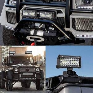 Image 5 - OKEEN listwa świetlna LED 7 Cal Spot Flood Combo Off światła drogowe 12V 120W LED jazdy mgła praca oświetlenie do jeepa ciężarówki ATV Buggy UTV SUV