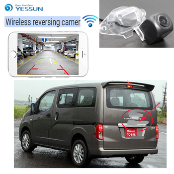 CAR hd wireless Rear View Camera For Ashok Leyland Stile Parking For Nissan Evalia NV200 CCD Night Vision Reverse Camer