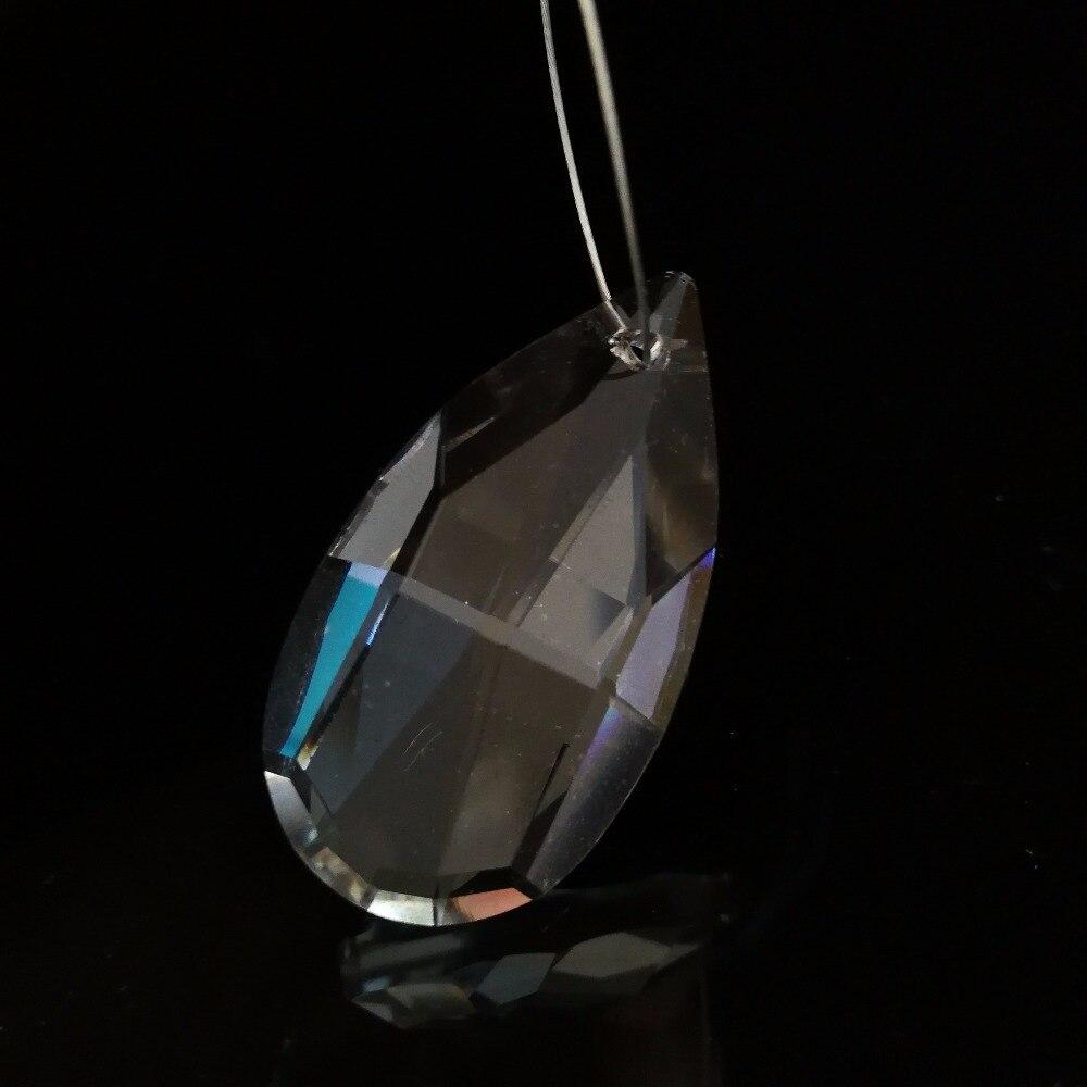 20Pcs 76mm Crystal Rocket Head Chandeliers Pendant  Lamp Drop Suncatcher Prisms