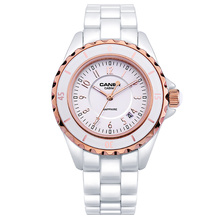 Watches Fashion Women Luxury Brand Lady Ceramic quartz Watch Women's Wristwatches waterproof CASIMA # 6702