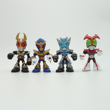Kamen cavalier Type dentraînement pointe de vitesse cavalier figurines Type technique cavalier PVC figure jouets Brinquedos Anime 6 CM