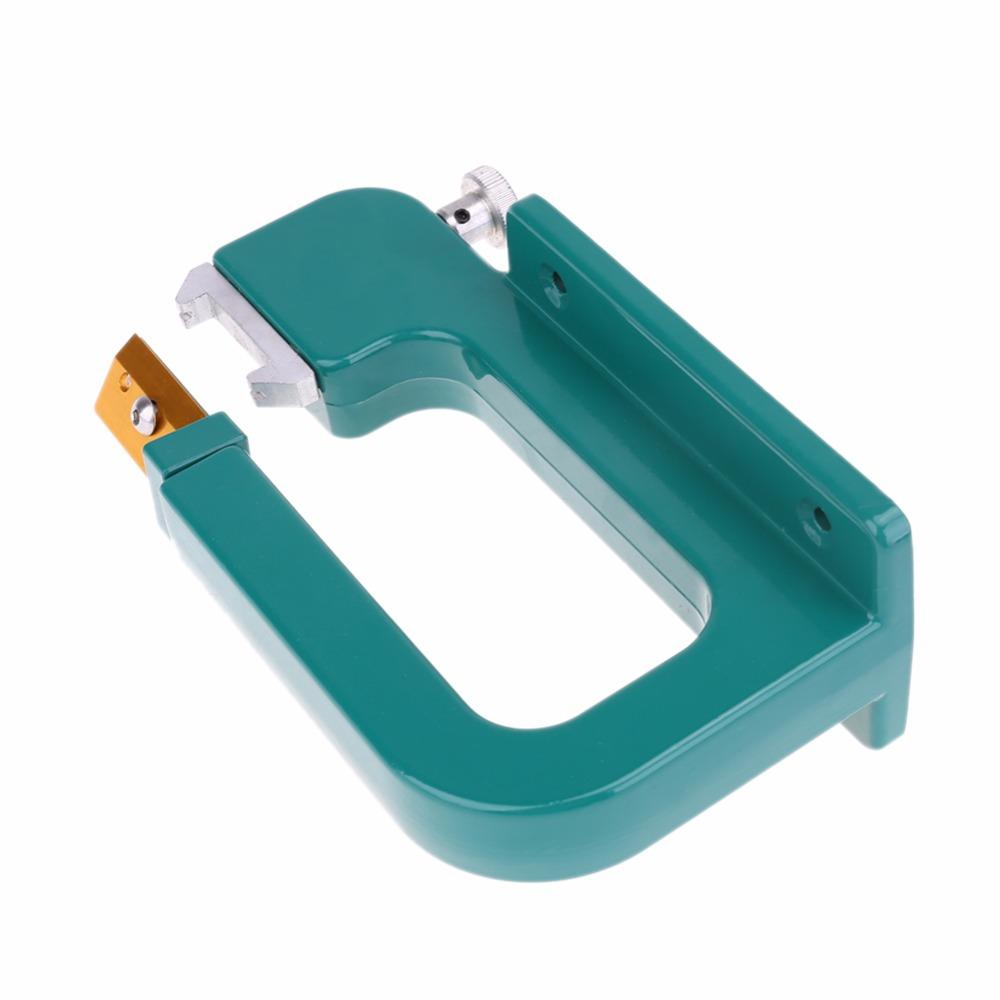 Aluminum Leather Splitter Tool Manual Leather Paring Device Kit Leather Skiver Peeler Leather Tool With Blades Max 30mm Width