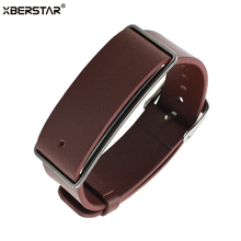 Replacement Genuine Leather Wrist Strap Watchband for Huawei Honor Band A1 Watch