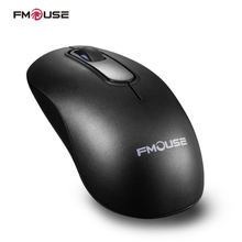 Original FMOUSE M201 Mouse 1200 DPI Wireless Mute Mouse Mini 2.4Ghz Optical Mouse For Laptop Notebook PC Desktop Macbook