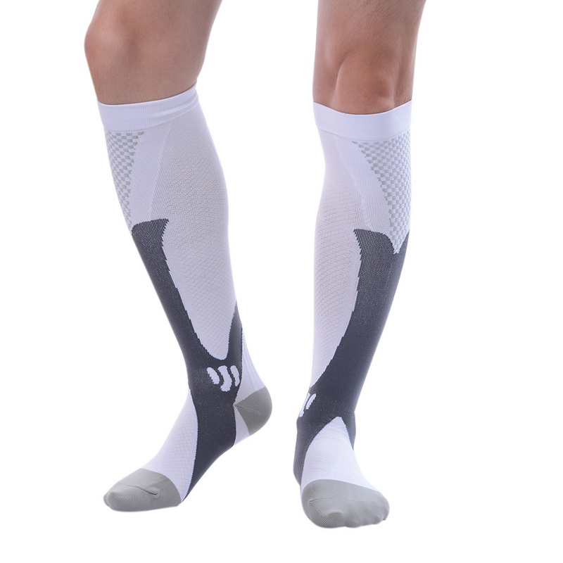 LASPERAL 1 Pair New Fashion Compression Socks Support Athletic Running Pregnancy Health Socks Outdoor Sports Racing Cycling Sock