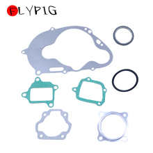 FLYPIG 7Pcs/Set Durable Engine Gasket Top End Rebuild Kit for YAMAHA PW 80 PW80 PY80 PEEWEE Moto Bike ATV Quad Motorcycle Parts 10 set base time timer relay 8pin h3y 2 h3y dc24v 5a 0 1min 3min 3min