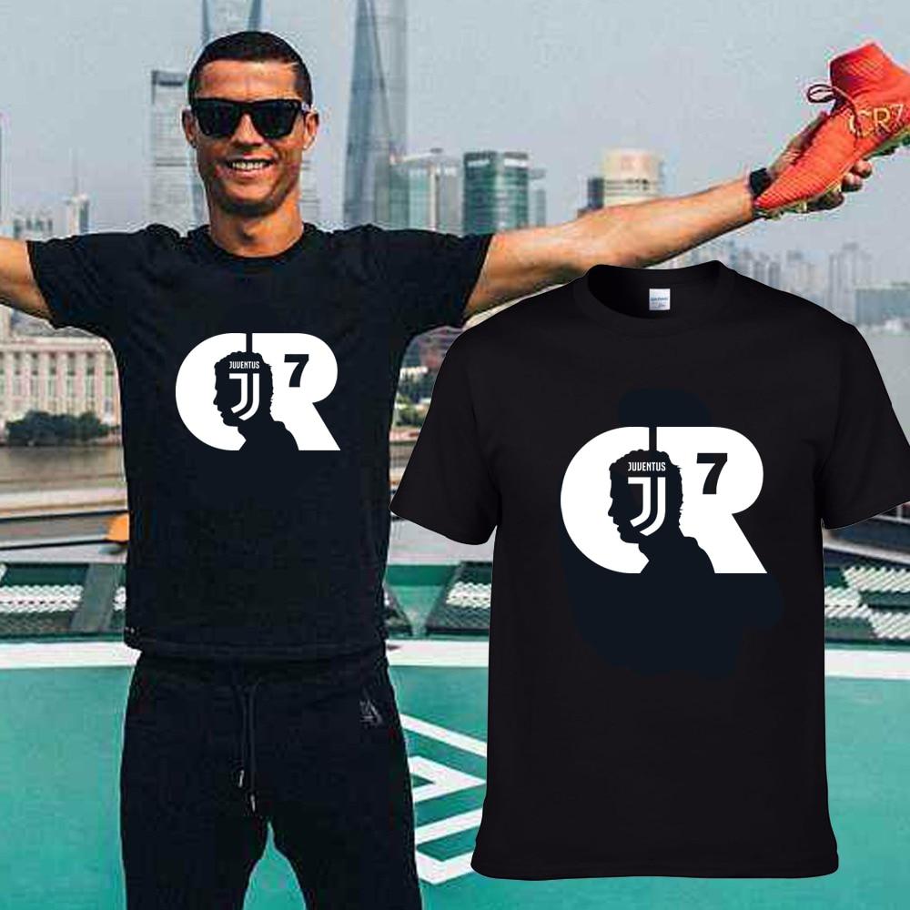 bc748959e 2018 Summer MAGLIA MAGLIETTA CRISTIANO RONALDO ALLA JUVENTUS T-Shirt Men  Short Sleeve O-Neck fashion T shirts for fans gift