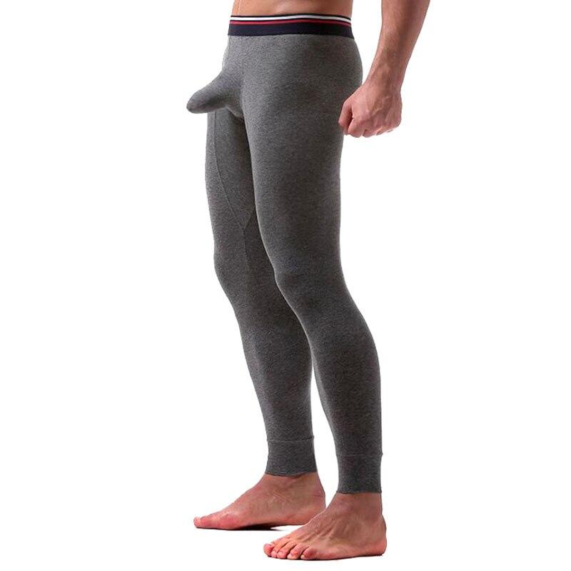 Men's Keep Warm Pants Long Cotton Scrotum Carrier Pouch Style Super Big Size 7XL Boxers Male Boxer Underwears Comfortble Colors
