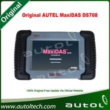 Latest Original Autel MaxiDAS DS708 Multibrand Auto scanner (update by internet) support multi brand vehicles