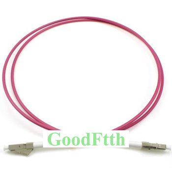 цена на Fiber Optic Patch Cord Jumper LC-LC Multimode OM4 Simplex GoodFtth 20-100m