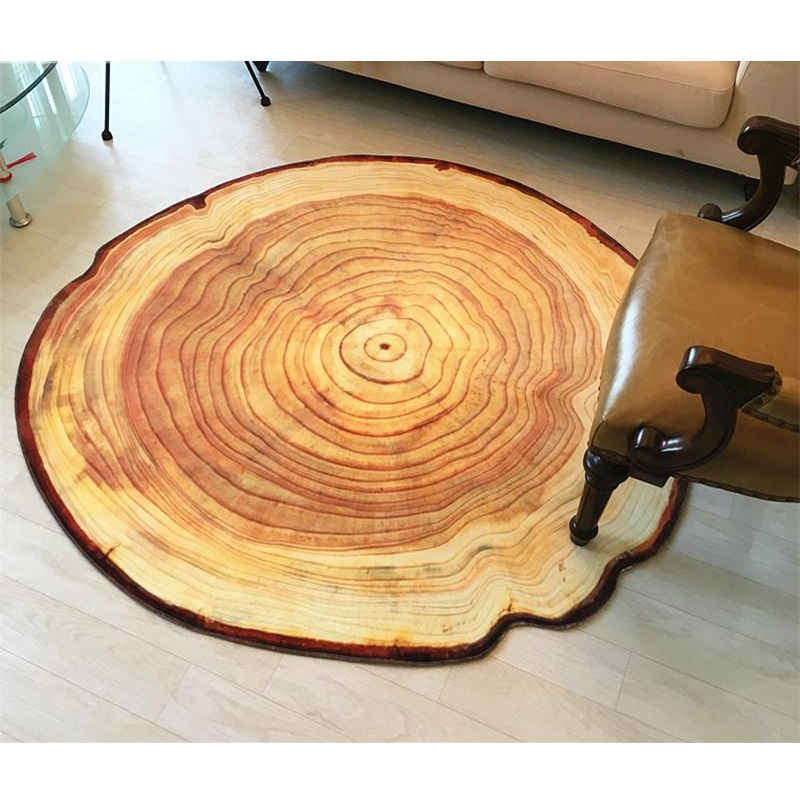 3D Growth Ring Pattern Bathroom Carpet Floor Mat Anti Slip Bath Mats Living  Room Carpets Home Decor Large Bathroom Rugs Tapetes