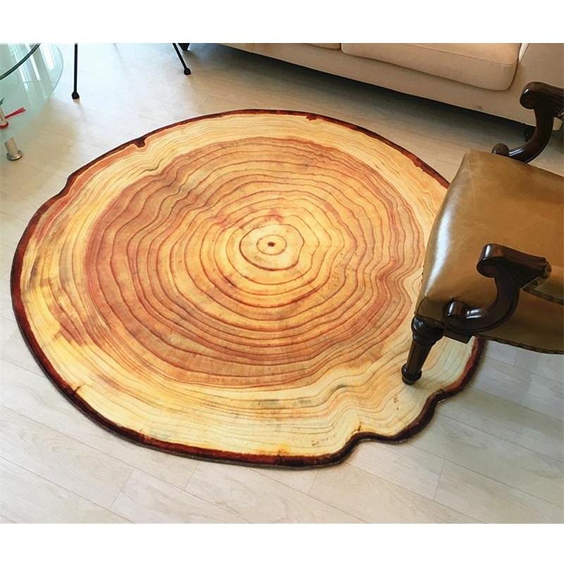 3D Wachstum Ring Muster Bad Teppich Bodenmatte Rutschfeste Badematten Wohnzimmer Teppiche Wohnkultur Grosse Tapetes