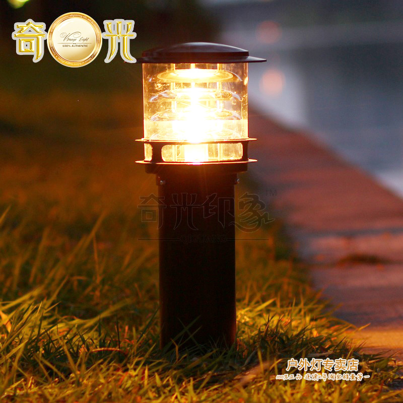 Free ship led garden Lawn lamp lights 220V yard lights strawhat  led street outdoor light Landscape Aluminum waterproof CE ROHS residential areas led lawn lamp garden solar lights waterproof outdoor landscape lighting wall light for yard garden driveway