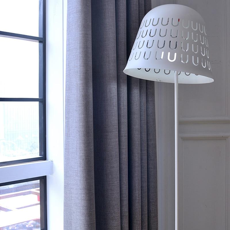 [byetee] Blackout Vorhänge Für Wohnzimmer Benutzerdefinierte Leinen - Haustextilien - Foto 4