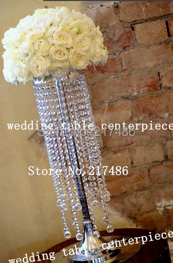 Crystal Table Top Chandelier Centerpieces For Weddings Flower Stand Wedding Centerpiececs