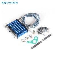 motorcyel parts Oil Cooler Cooling Radiator For 50cc 70cc 90cc 110cc 125cc Horizontal Engine Dirt Pit Bike Monkey Bike ATV