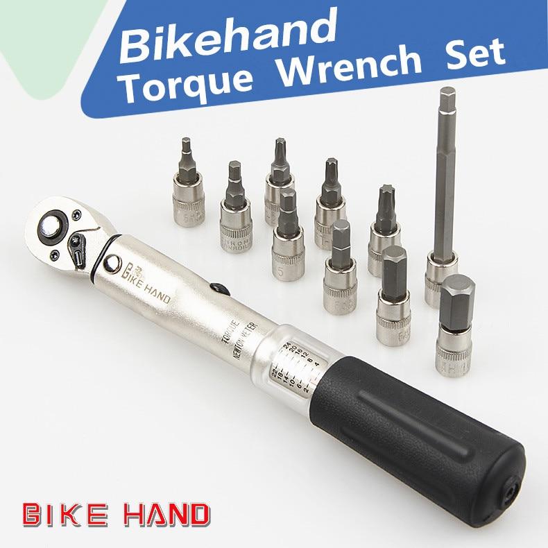 BIKEHAND Bicycle Repair Tools Kit Bike Torque Wrench Allen Key Tool Socket Set Road MTB Bike