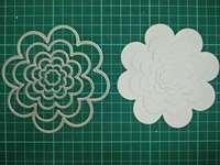 Round Flowers Metal Die Cutting Scrapbooking Embossing Dies Cut Stencils Decorative Cards DIY Album Card Paper