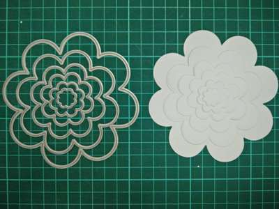 Round flowers Metal Die Cutting Scrapbooking Embossing Dies Cut Stencils Decorative Cards DIY album Card Paper Card Maker m word hollow box metal die cutting scrapbooking embossing dies cut stencils decorative cards diy album card paper card maker