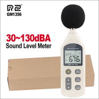 RZ Digital Sound Level Meter USB Noise Tester Meter Decibel Meter Noise Meter GM1356 30 130dB A/C FAST/SLOW DB GM1356