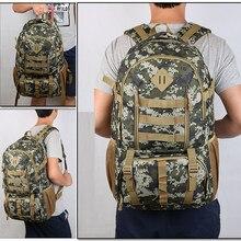 Sac à dos tactique de camouflage Molle de 50l, sac à dos imperméable de l'armée Mochila pour randonnée et chasse, sac à dos de tourisme, sac de Sport en plein air, nouvelle collection