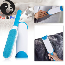 Magic Fur Brush For Lint Remover Cleaning Clothes Brush Hair Cat Dog Fur Hair Dust Brusher Remover Cloth Sofa Fabric Travel(China)